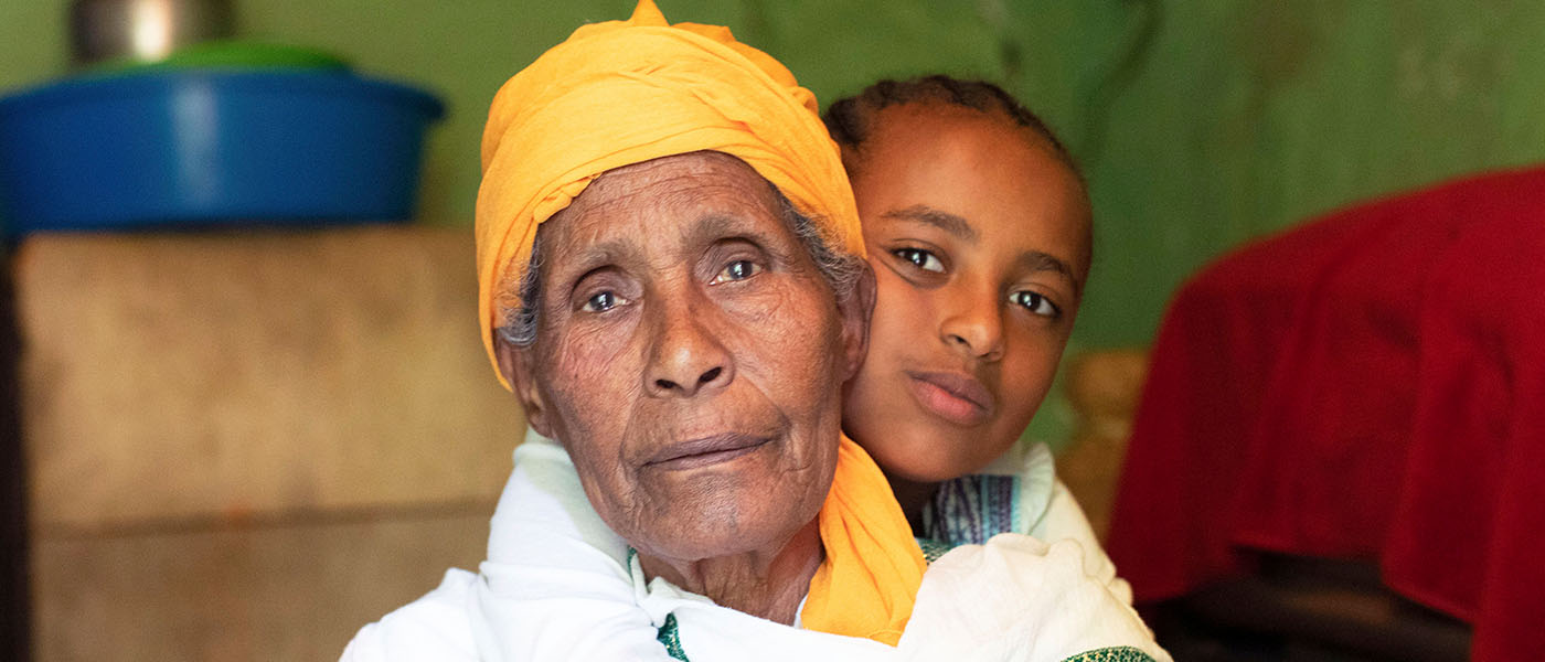 Selam is the only family her granddaughter has left, but she's going blind. You could help change the life of a grandparent like Selam.