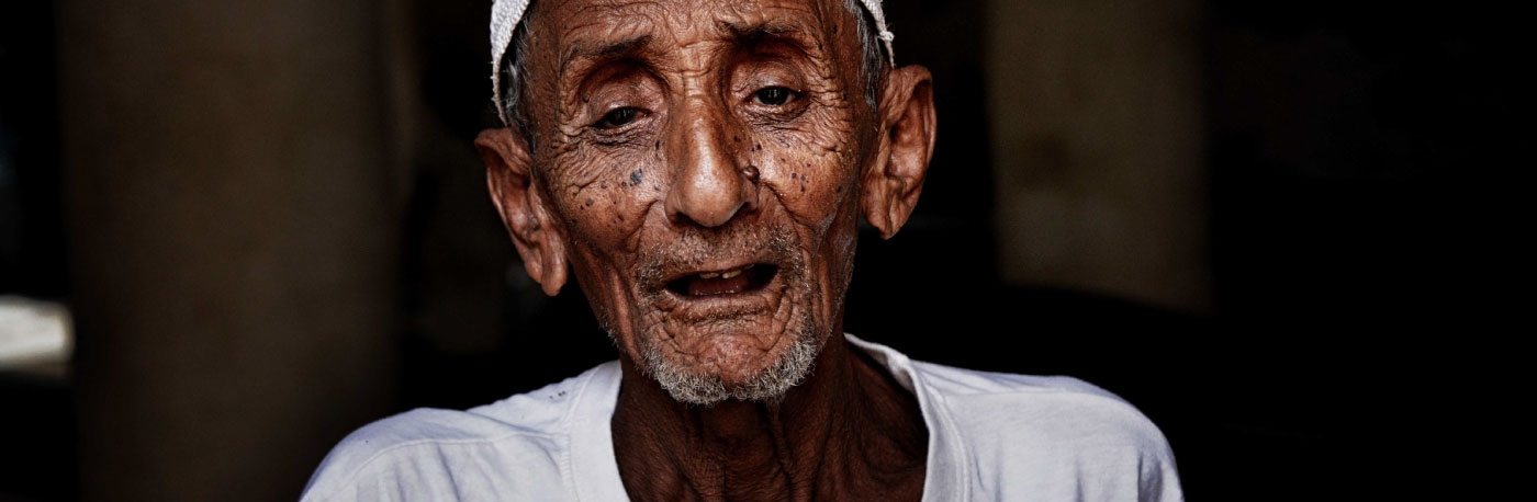 Photo of man in Yemen