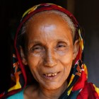 Lipi, 62, from Bangladesh thanks fundraisers for their donation.
