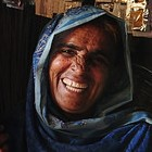 Hazoor lives in a small village with her family of eight near Shikarpur. For the past two years Hazoor has been suffering from Hepatitis.