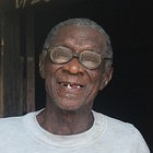 Karimjabu, aged 75, is married with two children and 9 grandchildren. He had a cataract removed eight years ago and was provided with glasses.