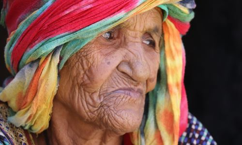 Older women called Sheika in Yemen