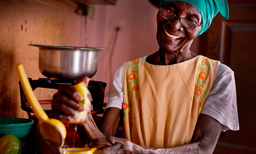Thanks to us, 88-year-old Erenestina was one of the first women to receive a pension in Zanzibar