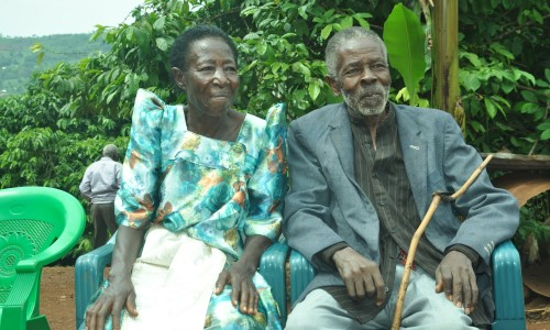 Posiano Kajub and Alice Nakiwanda - Married at 75: how pensions influence more than a person's income