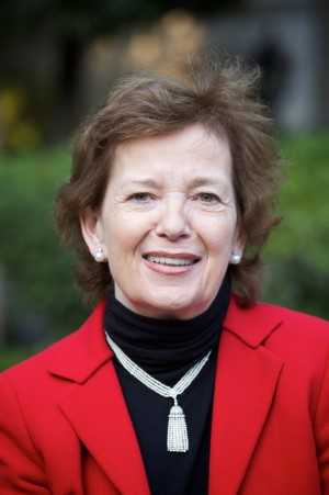 Mary Robinson, member of The Elders and first woman President of Ireland